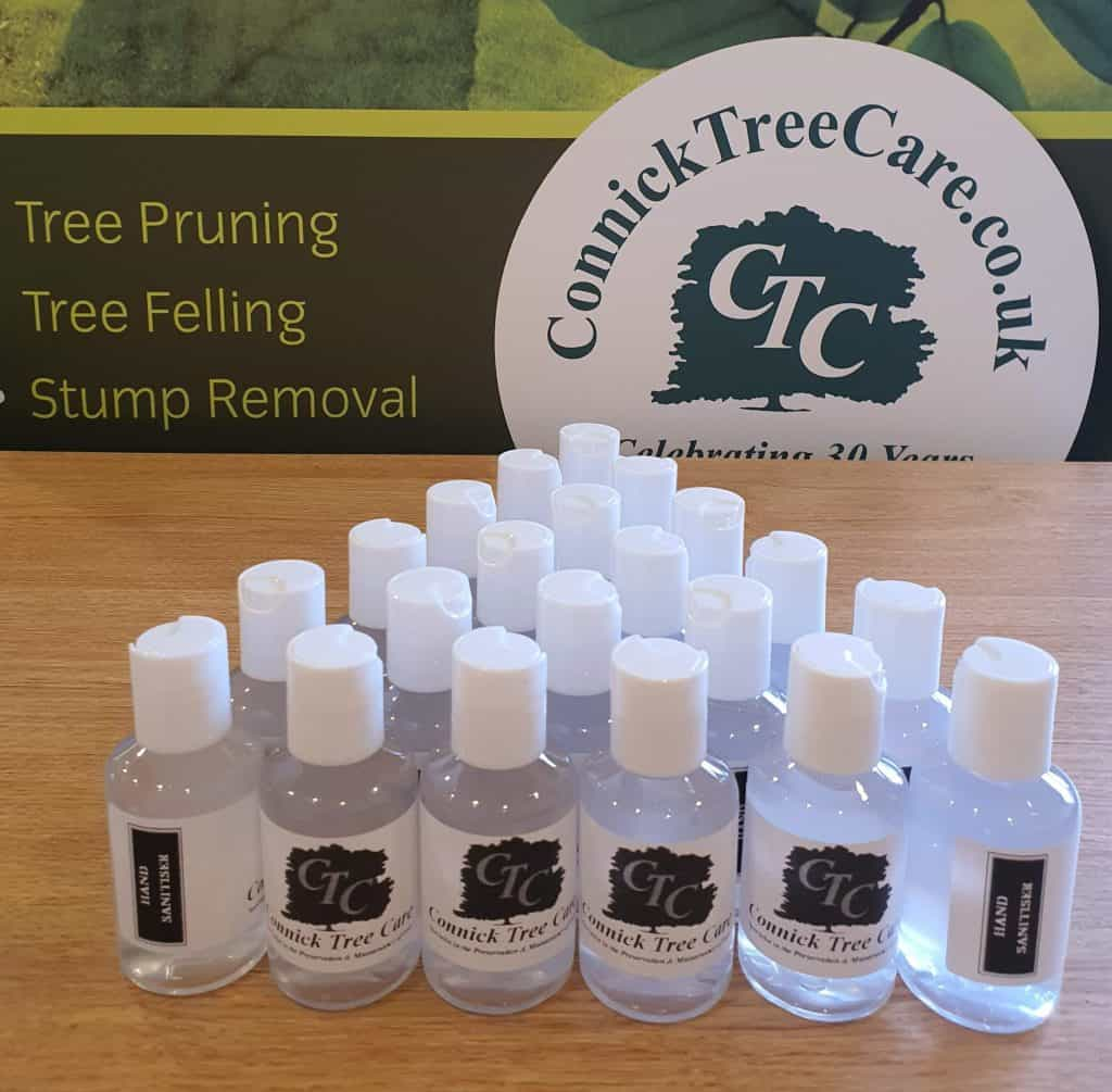 Connick Tree Care Hand sanitiser