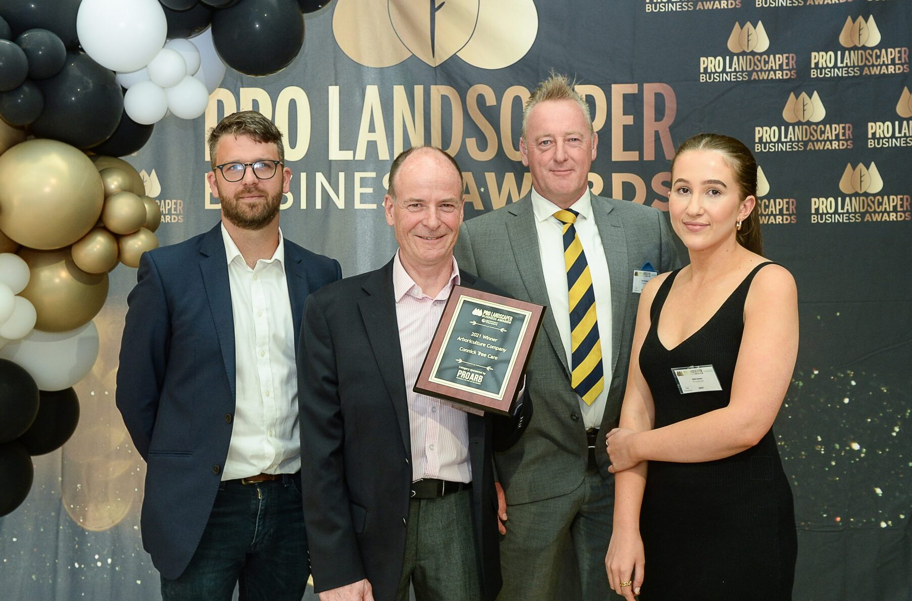 Winner! Arboriculture Company of the Year!